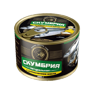 Canned MACKEREL in oil